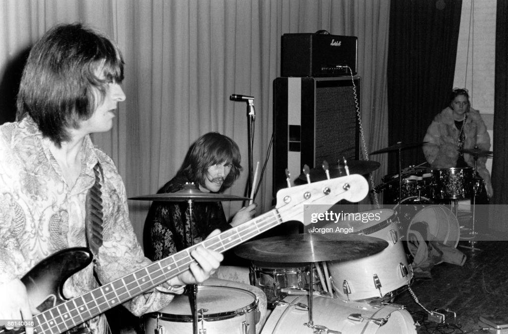 Led Zeppelin Live In Denmark : News Photo