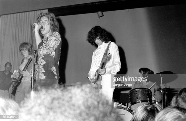 Photo of LED ZEPPELIN The New Yardbirds Copenhagen Sep 7 1968 The first performance ever
