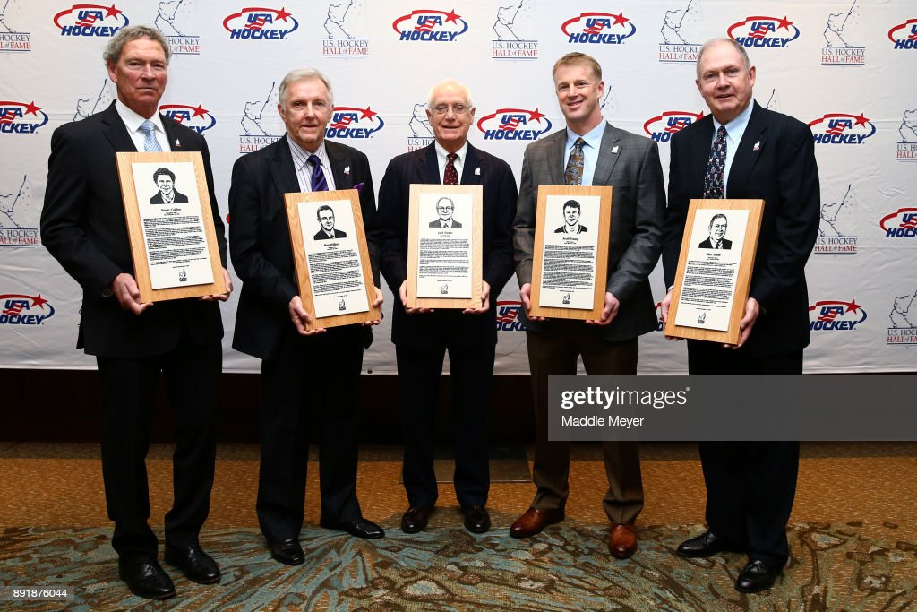 U.S. Hockey Hall Of Fame Induction