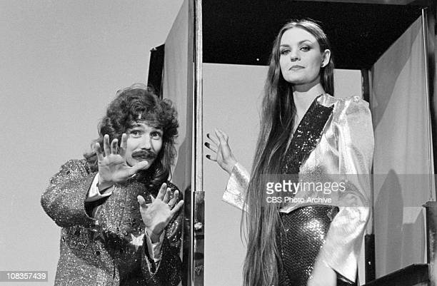 From left magician Doug Henning and singer Crystal Gayle for The Crystal Gayle Special Image dated September 1 1979