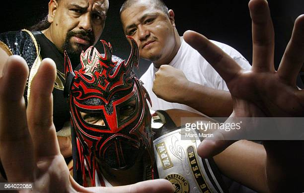 """Martin """"El Genio"""" Marin, Jerry """"Infernal"""" Marin and Efren """"Lil' Cholo"""" Garza are three of the 25 Lucha Libre wrestlers who will bring their..."""