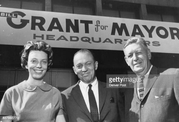 From left Mel Grant daughter Wm Grant W Ted Chafee Credit Denver Post