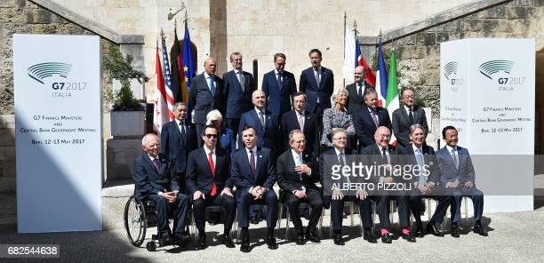 Organisation for Economic Cooperation and Development SecretaryGeneral Angel Gurria Banque de France governor François Villeroy de GalhauBank of...