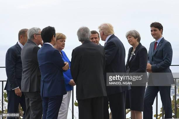 President of the European Council Donald Tusk President of the European Commission JeanClaude Juncker Japanese Prime Minister Shinzo Abe German...