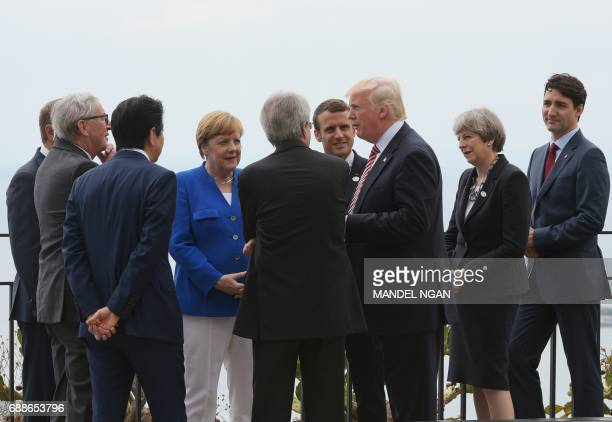 President of the European Council Donald Tusk President of the European Commission JeanClaude Juncker Japanese Prime Minister Shinzo Abe German...