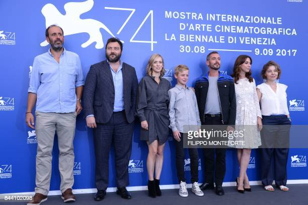 Producer Alexandre Gavras actor Denis Menochet Lea Drucker actor Thomas Gioria director Xavier Legrand actress Mathilde Auneveux and Sophie...