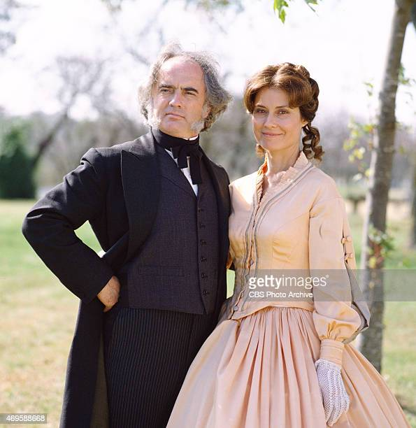 From left Robin Gammell and Diane Baker appear in The Blue and the Gray The epic miniseries about the American Civil War originally broadcast in...