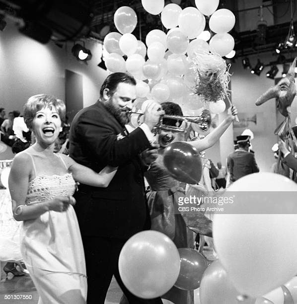 From left Shari Lewis Al Hirt host of the show and Eydie Gorme performs on FANFARE Image dated June 16 1965 Original air date June 19 1965