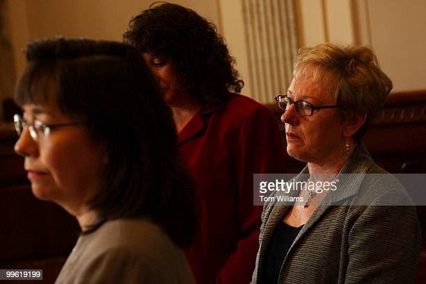 From left Sharon Cohen Biotechnology Industry Organization Wendy Andrews University Medical Center in Tucson Ariz and Judy Jones form Michigan who...