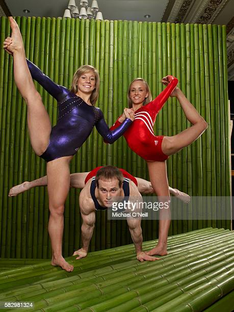 Shawn Johnson Paul Hamm and Nastia Liukin