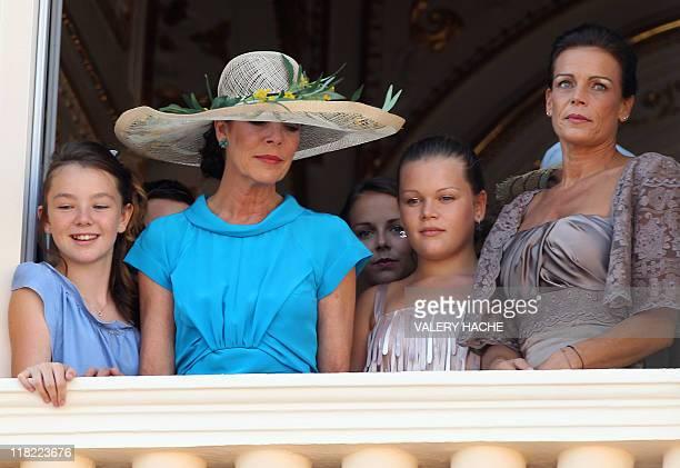 The daughter of Princess Caroline of Hanover Princess Alexandra of Hanover Princess Caroline of Hanover the daughter of Princess Stephanie of Monaco...