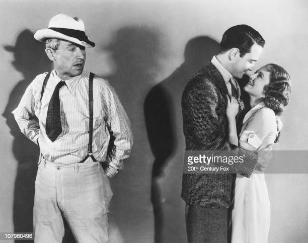 From left to right actors Will Rogers Lew Ayres and Janet Gaynor star in the film 'State Fair' 1933