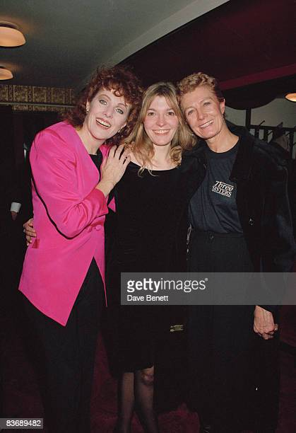 From left to right actresses Lynn Redgrave Jemma Redgrave and Vanessa Redgrave 12th December 1990 Lynn and Vanessa are sisters and Jemma is their...