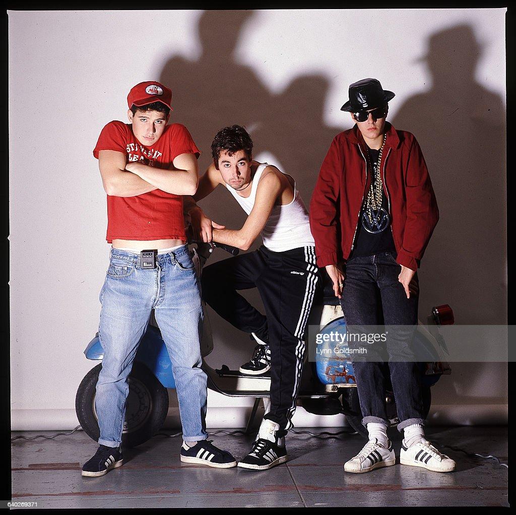 Adam Horovitz, Adam Yauch, and Mike Diamond of the Beastie Boys.