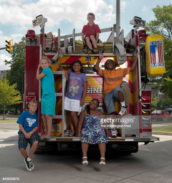 AUGUST from left to right Aidan Shaw Marina Pariser Juliana Bonilla William Faber Arkilah Henry and Michael Briscoe all six children will have their...