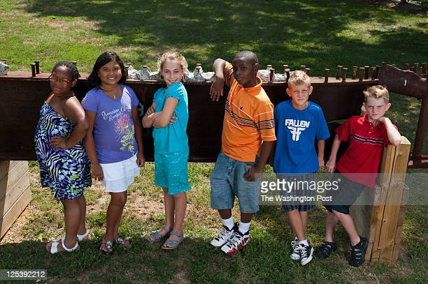 AUGUST 10 2011 from left to right Arkilah Henry Juliana Bonilla Marina Pariser Michael Briscoe Aidan Shaw William Faber all six children will have...