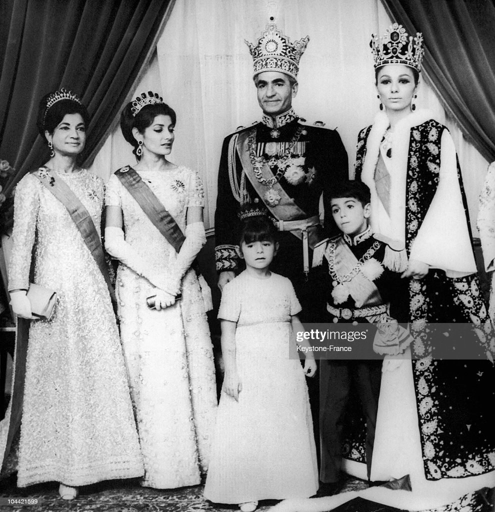 The Royal Family Of Iran Crowned In 1967 : News Photo