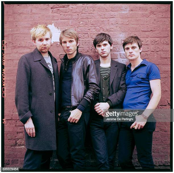Bob Hardy Alex Kapranos Paul Thomson and Nick McCarthy