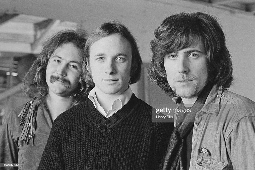 David Crosby, Stephen Stills, and Graham Nash.