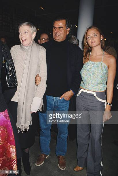 From left to right fashion editor Liz Tilberis fashion photographer Patrick Demarchelier and fashion designer Stella McCartney at Demarchelier's...