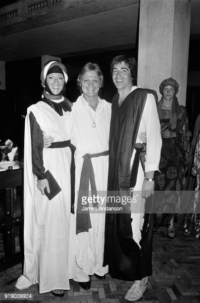 French singers Sheila Claude François and Ringo in Morocco 1st May 1977