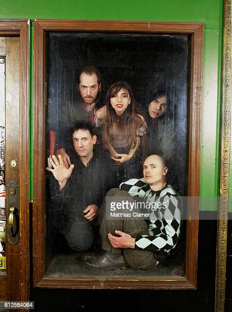 Jimmy Chamberlin Matt Sweeney Paz Lenchantin Billy Corgan and David Pajo