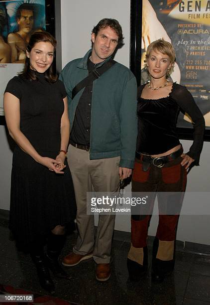 From left to right Laura Elena Harring Paul Schneider and Petra Wright