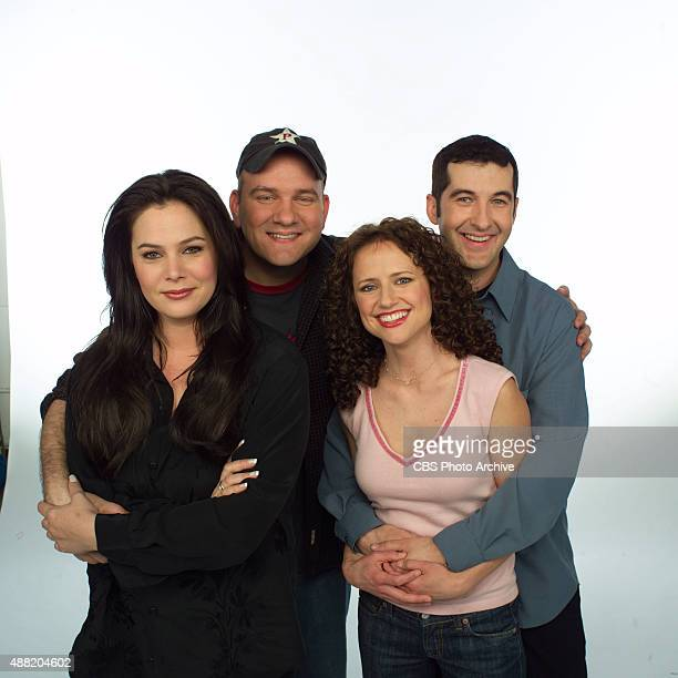 From left to right Liza Snyder Mike O'Malley Jean Louisa Kelly and Anthony Clark of YES DEAR