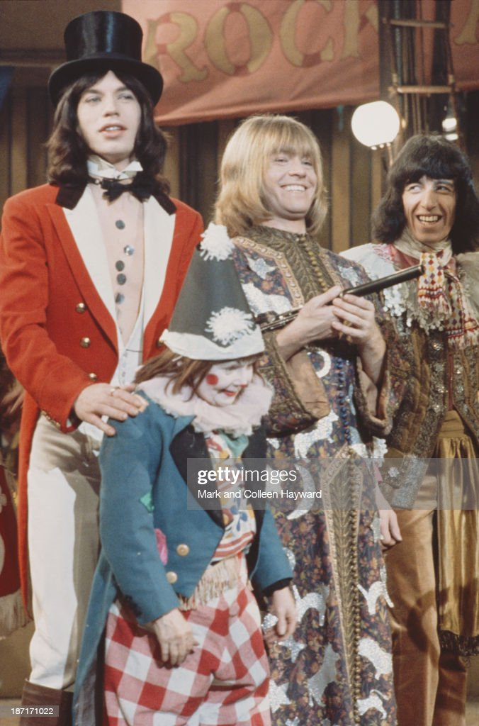 "GBR: 11th December 1968 - ""Rolling Stones Rock & Roll Circus"" Is Filmed"