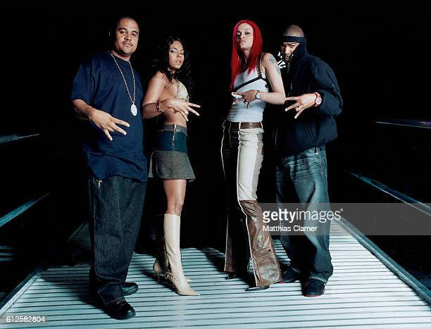 Murder Inc Records CEO Irv Gotti Ashanti Charli Baltimore and Ja Rule