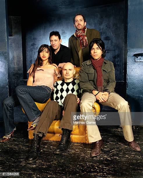 Paz Lenchantin Jimmy Chamberlin Billy Corgan Matt Sweeney and David Pajo