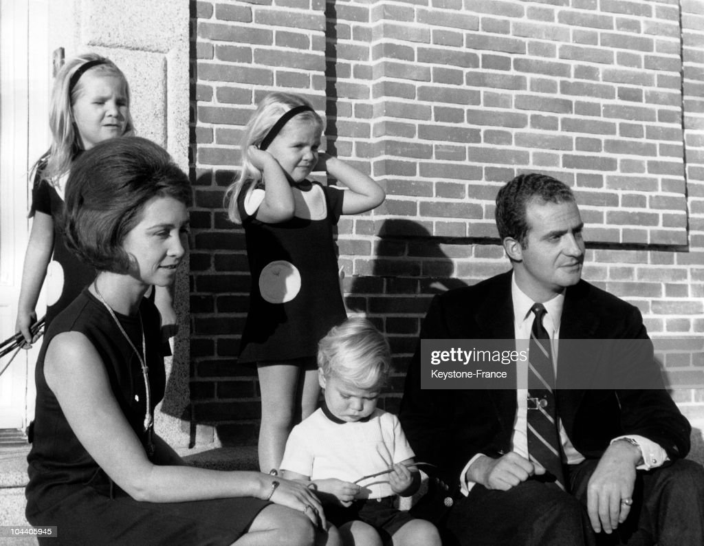 The Spanish Royal Family : Foto jornalística