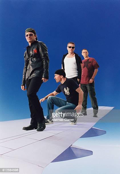 Singer Bono guitarist The Edge bassist Adam Clayton and drummer Larry Mullen Jr