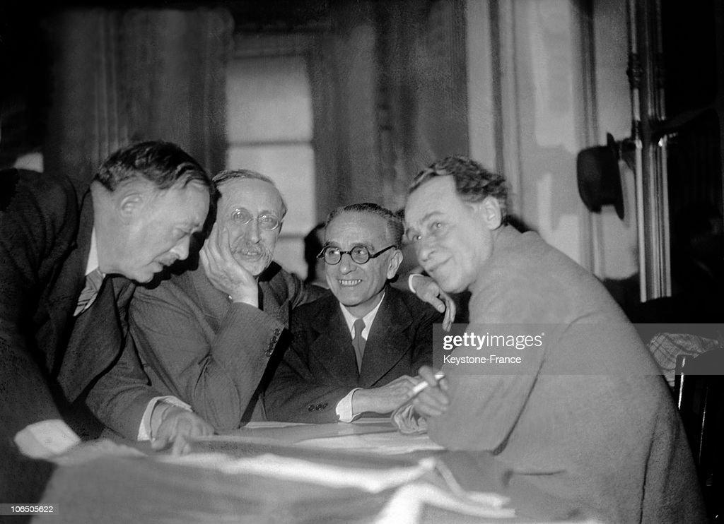 Socialist Congress In Paris, 1936 : Photo d'actualité