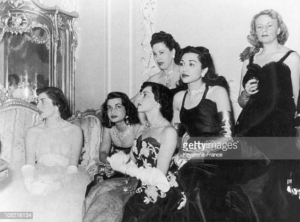 From Left To Right The Queen Soraya The Princess Ashraf Pahlavi The Princess Shams Pahlavi The Princess Fatimah And The Mother Of The Queen Eva...