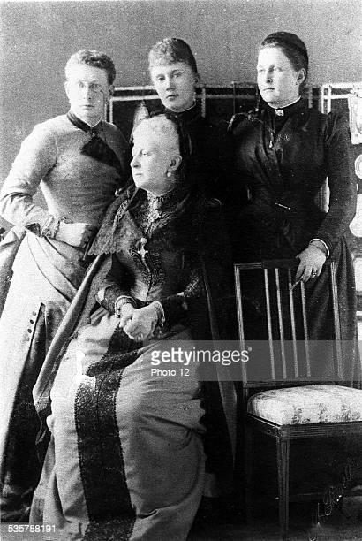 , Vera Contantinovna of Russia, Duchess of Wurttemberg, Elizabeth Mavrikievna, Grand Duchess Constantine of Russia, Olga of Russia, Queen of Greece,...