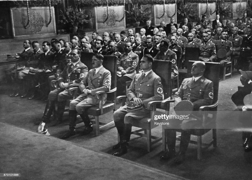 Hitler In Nuremberg : News Photo
