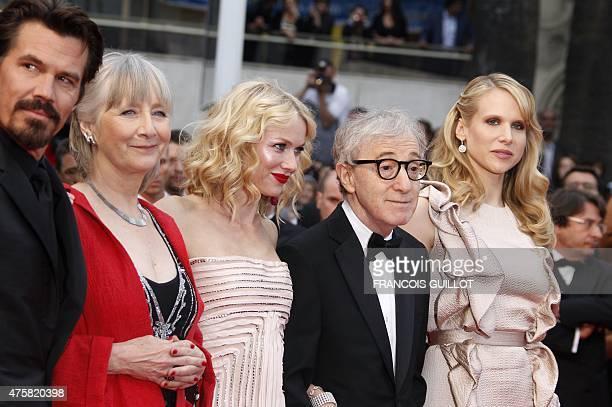 US actor Josh Brolin British actress Gemma Jones Britishborn Australian actress Naomi Watts US director Woody Allen and British actress Lucy Punch...