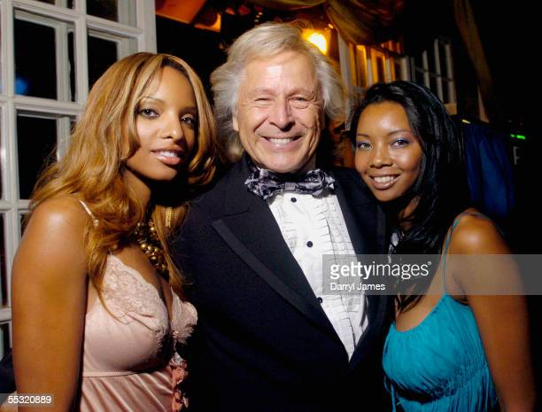 From left Yves Laurent Peter Nygard and Melisa Marie Jackson attend the TIFF Opening Night Party following the screening of Water at the 30th Annual...