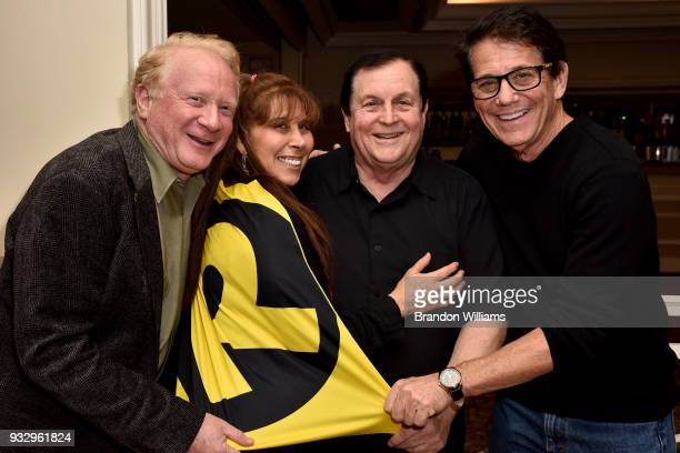 From LR Actors Don Most Tracy Posner Ward Burt Ward and Anson Williams attend the Southern California Motion Picture Counci's honoring of Burt Ward...
