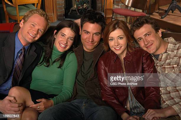 From lr Neil Patrick Harris Cobie Smulders Josh Radnor Alyson Hannigan and Jason Segel of the CBS Pilot HOW I MET YOUR MOTHER