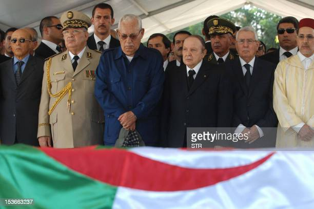 From Moroccan Foreign Minister SaadEddine AlOthmani Algeria's President of the Council of the Nation Abdelkader Bensalah Algerian President Abdelaziz...