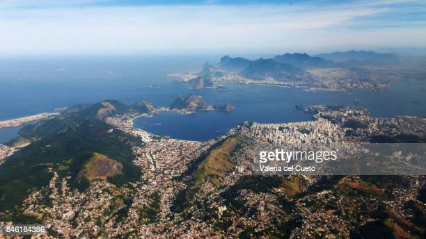 From Niteroi, Bay of Guanabara and ocean