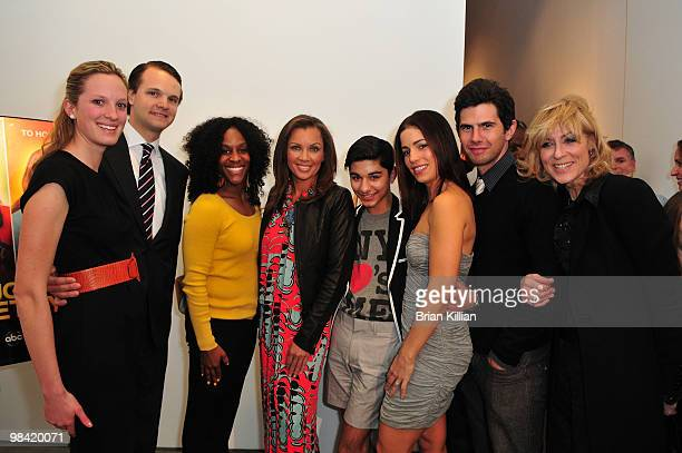 From Save the Children Nicole Barrett Andrew Barrett and Aaliyah Miller along with actors Vanessa Williams Mark Indelicato Ana Ortiz Daniel Eric Gold...