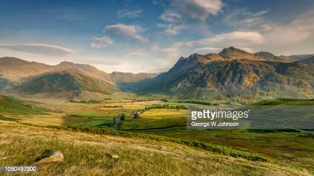 from side pike to heaven - lake district stockfoto's en -beelden