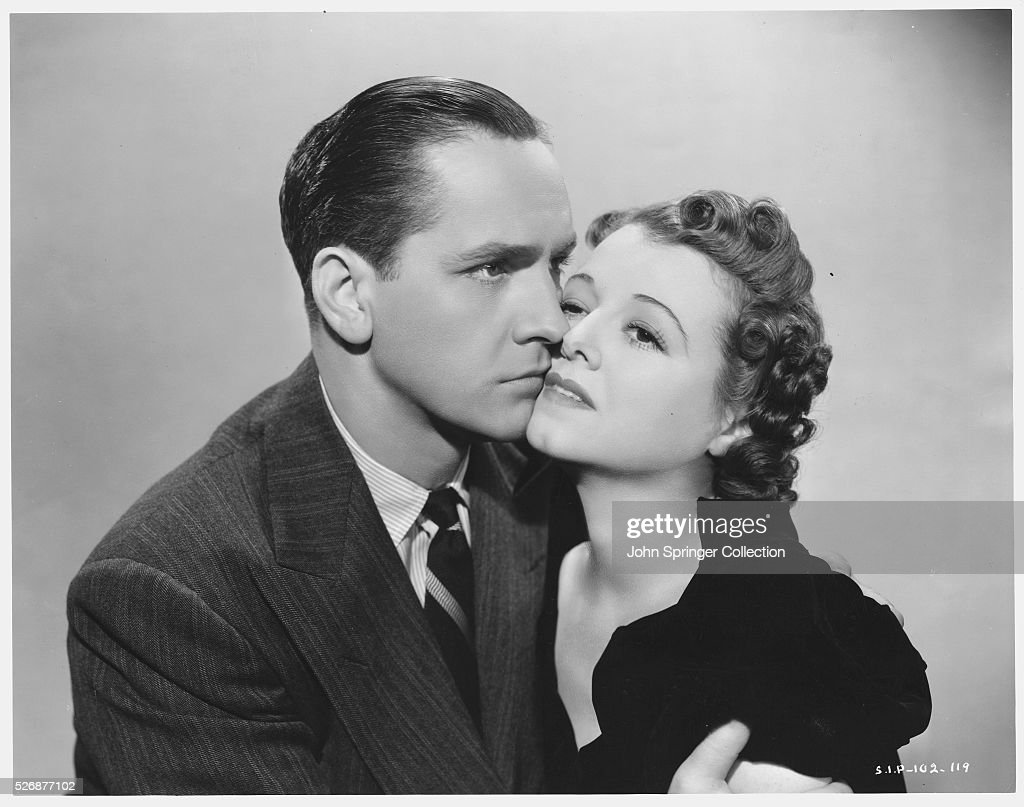 Fredric March and Janet Gaynor : News Photo