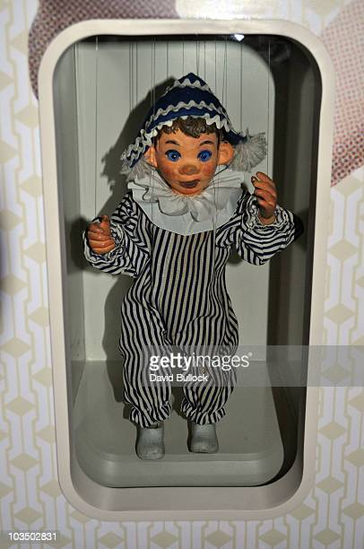 From the 1960's BBC Children's Watch with Mother program, the Andy Pandy Puppet, here on display at the Museum of London.