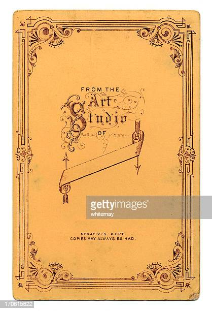 from the art studio of... - victorian style stock pictures, royalty-free photos & images