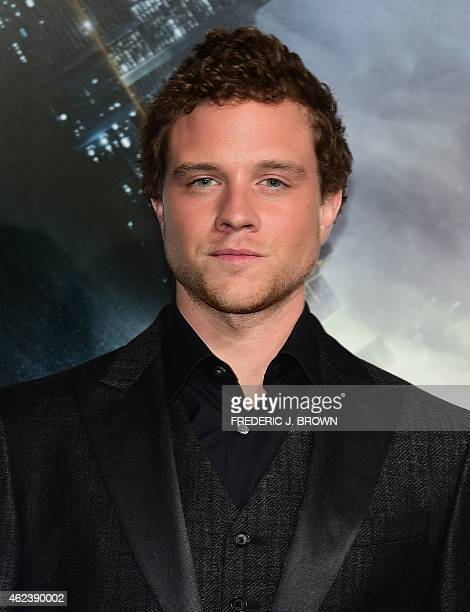 From the cast actor Johnny Weston poses on arrival for the Los Angeles Premiere of Project Almanac on January 27 2015 in Hollywood California The...