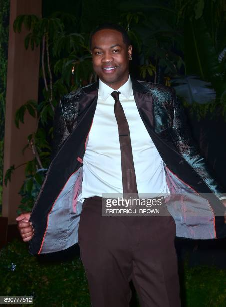 From the cast actor Ser'Darius Blain arrives for the premiere of 'Jumanji Welcome to the Jungle' in Hollywood California on December 11 2017 / AFP...